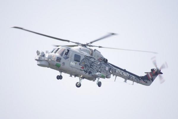 Royal Navy Lynx by TheAviator