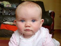 Those baby blue eyes