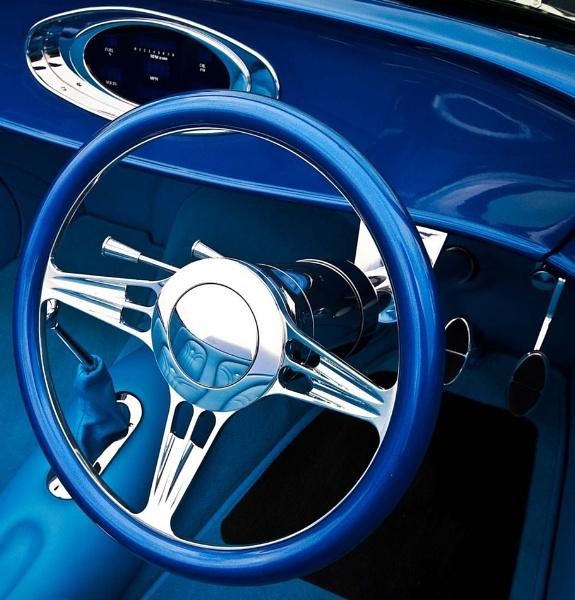 Cool Blue Interior by pdsdigital