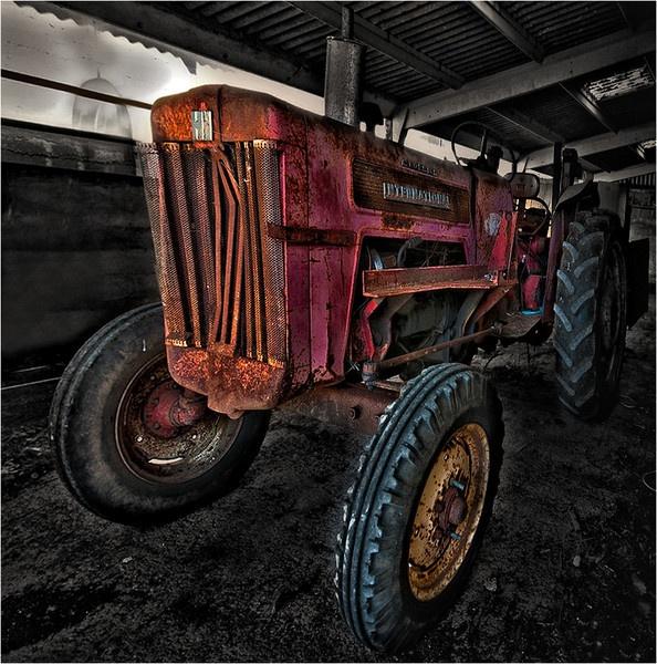 Old tractor II by Wallybazoom