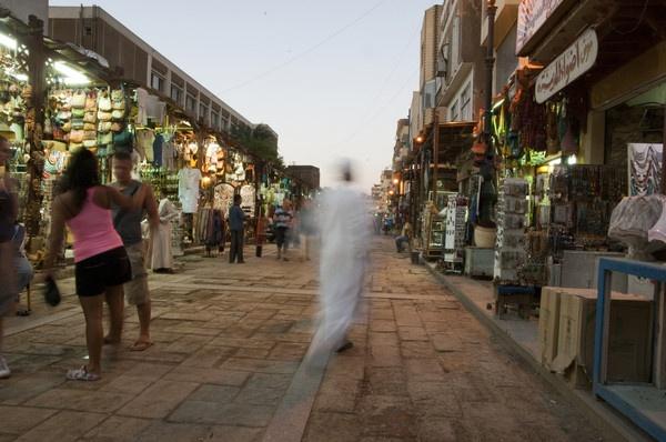 The souk in Aswan by IainHamer