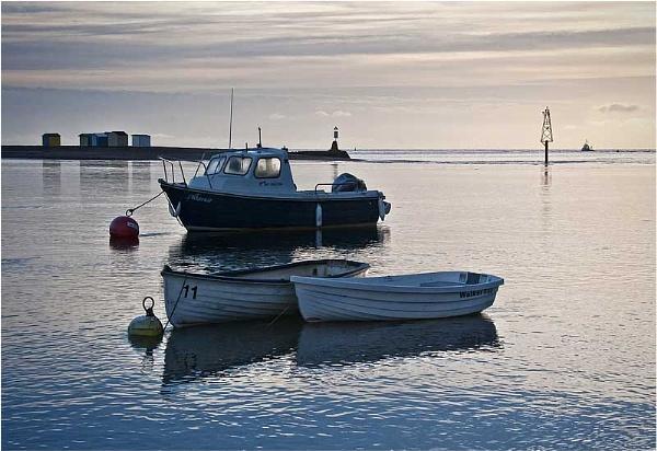 Three Boats by RockArea