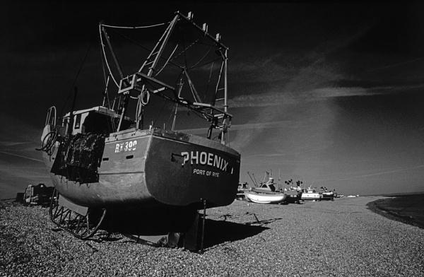 Dungeness Fishing Fleet. by JenBen