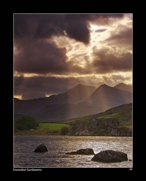 Snowdon Sunbeams by jer