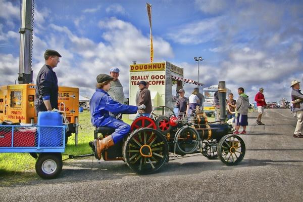 steam rally by jimmy-walton
