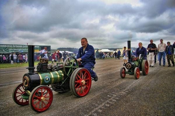 steam roller twins by jimmy-walton