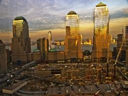 Sunset over Ground Zero