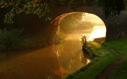 Bridge 18 at dawn
