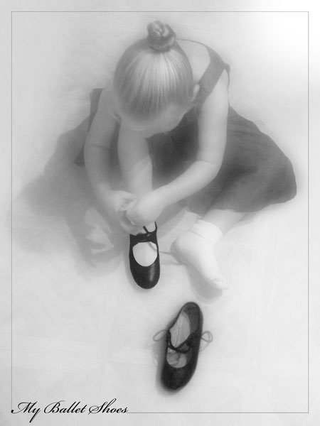 My Ballet Shoes by StevesPics