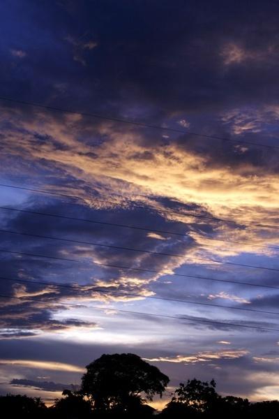 Sunset near the Highway by darrylhp