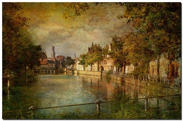 Bruges- De Lange Rei. by Cor