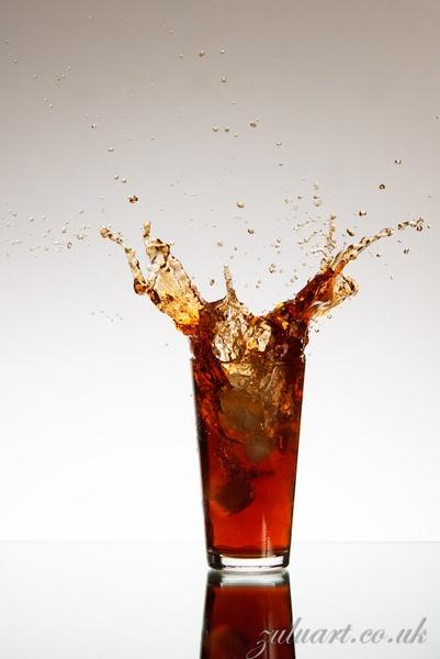 Coke with a splash by zulupentax