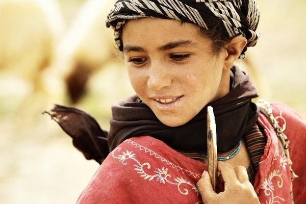 Girl shepherd by tomaszchrulski