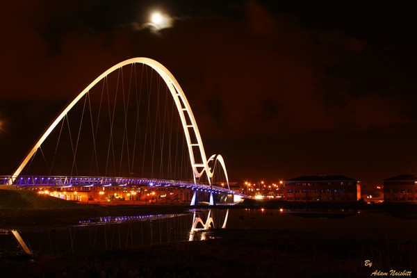 Infinity Bridge 2010 night shot by addy