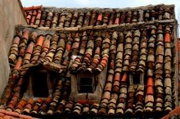 old roof dubrovnik