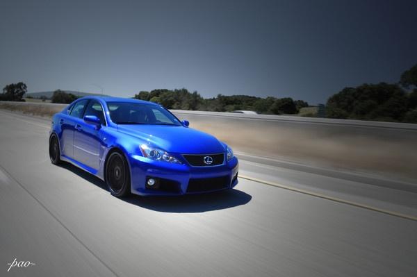 Lexus ISF Ultrasonic Blue Rolling by pao2