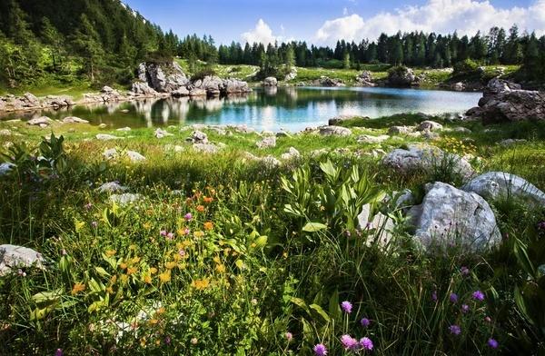 Dvojno jezero - The double lake by datoon