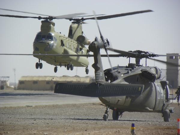Black Hawk & Chinook by fezuk24
