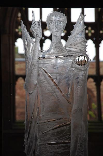 Glass angel by PaulBeeTee