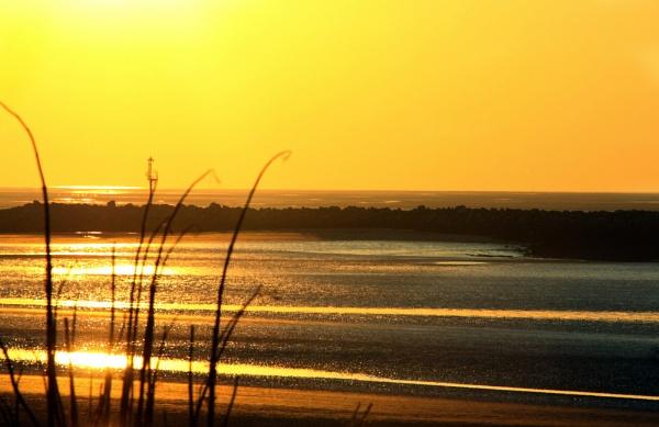 EVENING SUN SET by margeret