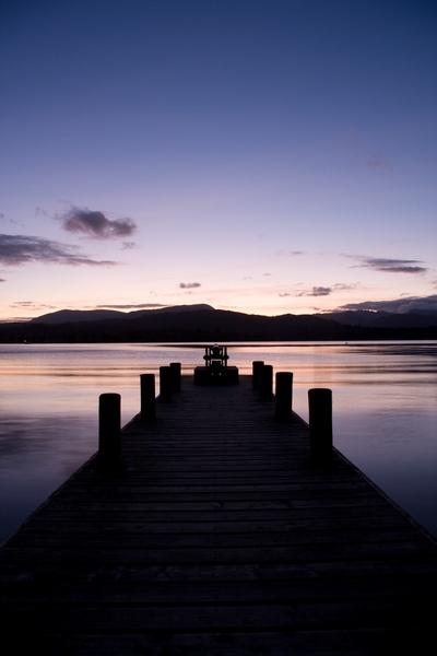 lake by night by mattywhit