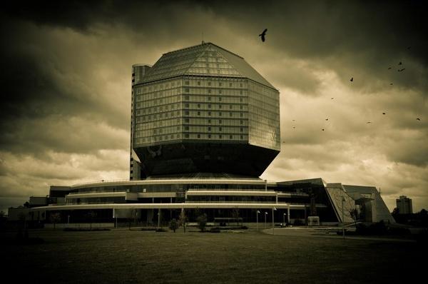 Minsk - Belarus National Library by Alan86