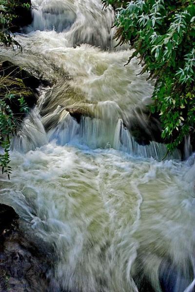 Watersmeet Waterfall by lianna