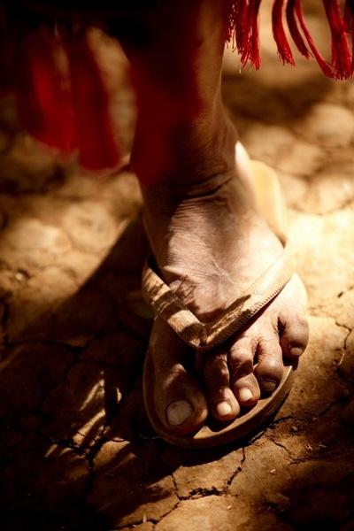 foot of vendor by tomaszchrulski