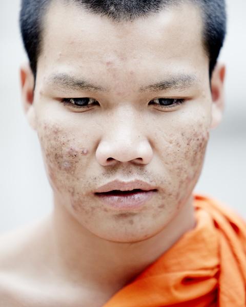 Buddhist monk by tomaszchrulski