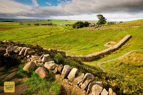 Hadrians Wall - Northumberland by simongreen