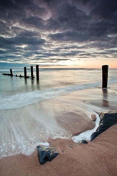 Sandy Sunrise by michaelcombe
