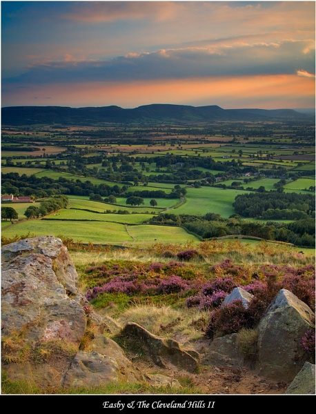 Easby & The Cleveland Hills II by DaveMead