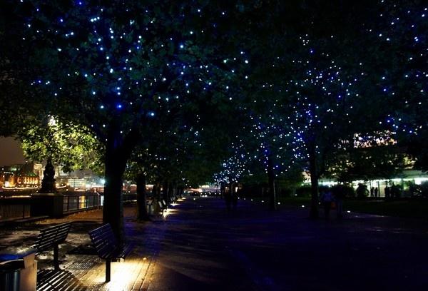 Blue Lights by EventHorizon