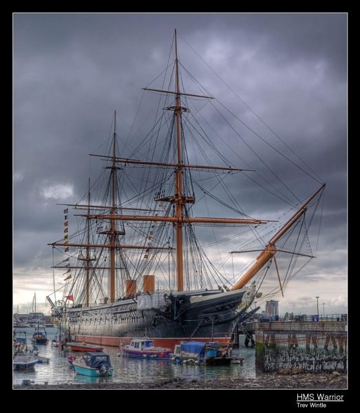 HMS Warrior by TrevW