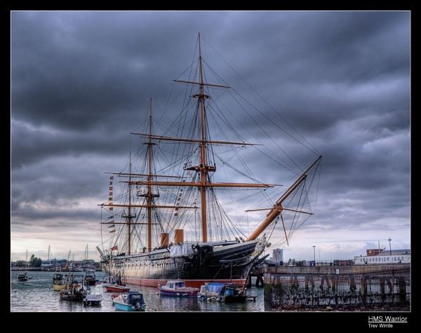 HMS Warrior (2) by TrevW