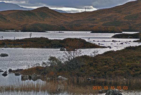 the Rannoch moor by rhonahelen