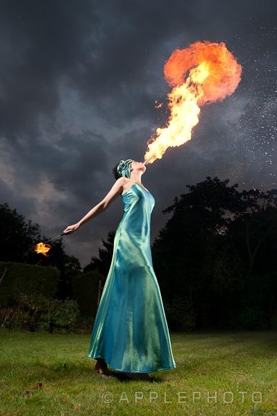 Firebreather by applephoto