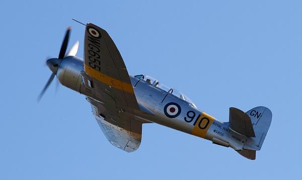 Hawker Sea Fury by Nigel_95