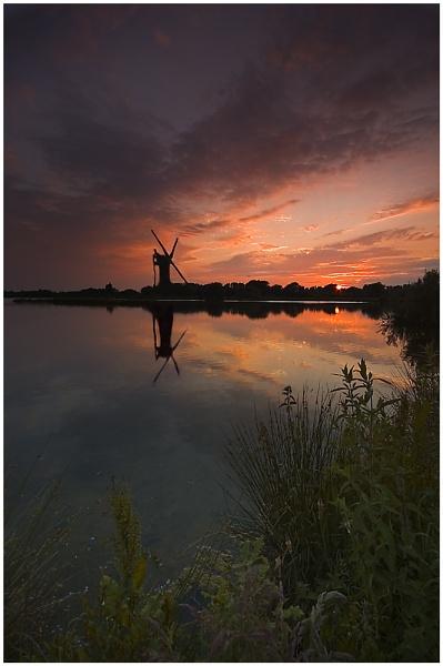 Evening Mill by bfgstew
