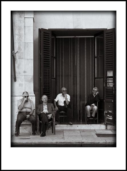 Gods Waiting Room (Italian  Style) by jarendell