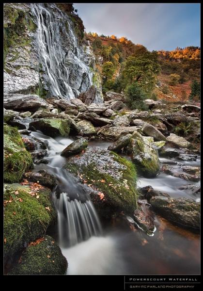 Powerscourt Waterfall by garymcparland