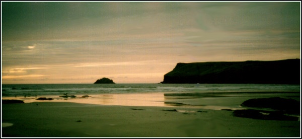 Polzeath Sunset September 1981 by Bowline