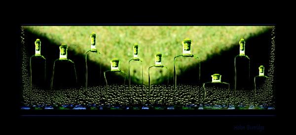 There were ten green bottles................. by helenlinda