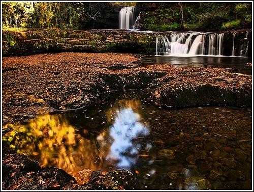 Autumn Falls by Fluke