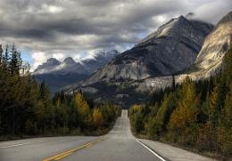 Road thro' the Rockies