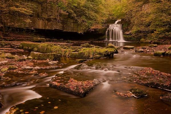 Cauldron Falls Autumn by Warriorpoet