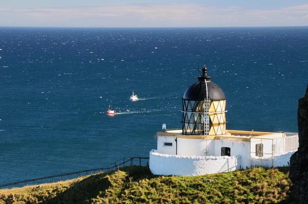 St Abb\'s Lighthouse by JG123456