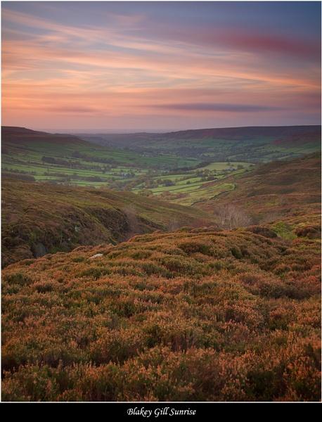 Blakey Gill Sunrise by DaveMead