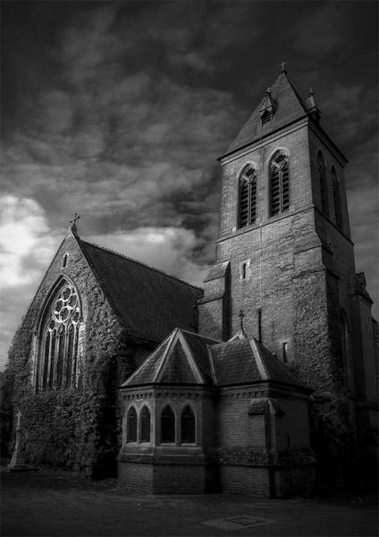Church, Aldershot by cmorton