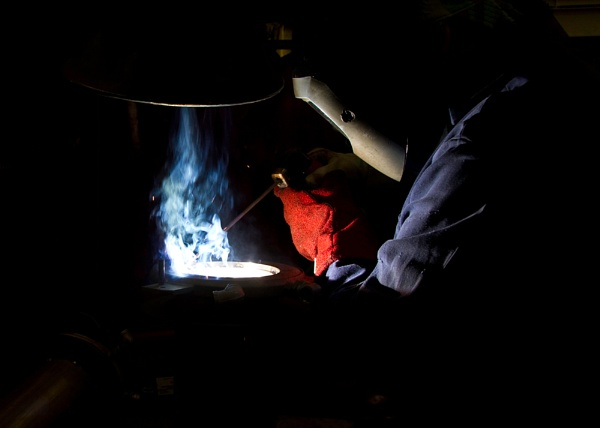 Welding II by bromley-smith